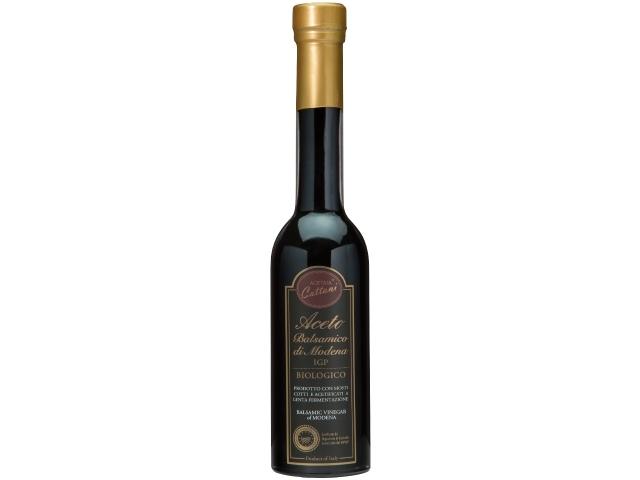 有機JAS認証 バルサミコ・ディ・モデナ・ビオ 2年以上熟成(オーガニックバルサミコ酢)イタリア産[250ml]【常温便】