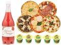 【送料無料】オーガニック食品パーティーセット【B】(ブラッドオレンジジュース、ローマ風ピッツァ、イタリアンジェラート)