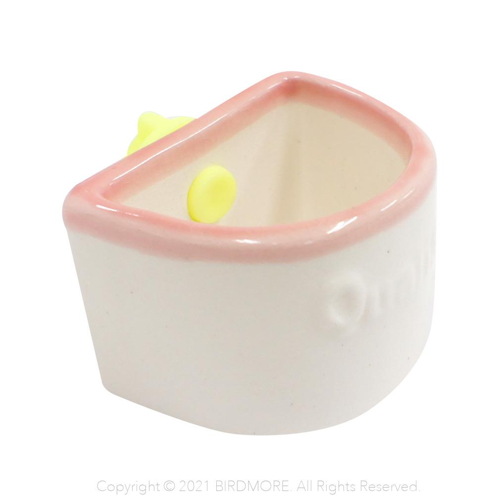 9996103【クオリス】小鳥のための陶器の食器
