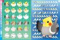 【ぴよぴよブランド】A4クリアファイル/オカメインコ多種POP◆クロネコDM便可能
