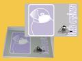 【まぢかるどりぃまぁ】カードサイズシール/文鳥・桜◆クロネコDM便可能