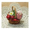 【Tropical Feather】★りんごのカゴ/モモイロインコ
