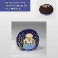 【珠とり屋】★アクセサリー019ブローチ/セキセイ・水色