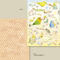 【ことりスイーツ】A4クリアファイル3/多種◆クロネコDM便可能
