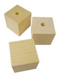 999287【BMオリジナル】無垢木立方体20×20×20mm