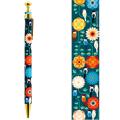 9996245【KOTORITACHI】レトロボールペン/文鳥と花飾り