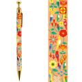 9996255【KOTORITACHI】レトロシャープペン/花の間のインコ