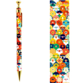 9996256【KOTORITACHI】レトロシャープペン/小鳥花束