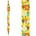 9996258【KOTORITACHI】レトロシャープペン/セキセイと花模様