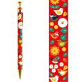 9996259【KOTORITACHI】レトロシャープペン/くつろぐ小鳥