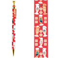 9996264【KOTORITACHI】レトロシャープペン/花色オウム