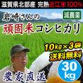 岩崎さんの頑固米コシヒカリ 白米30kg