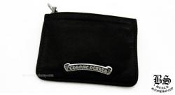 クロムハーツコインパース 3×4 ブラック ヘビーレザー(財布)