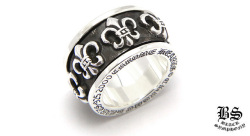 クロムハーツスピナー BS フレア リング(指輪)