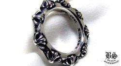 クロムハーツクロスバンドリング(指輪)