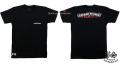 クロムハーツ メンズハーフスリーブポケットTシャツ スクロールラベル U.S.A. ブラック