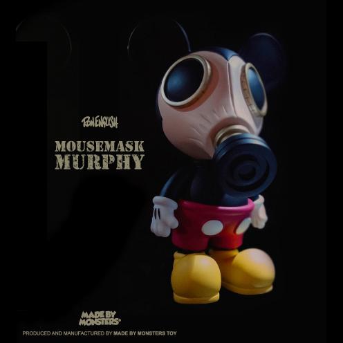 Ron English( �����å���)��Mousemask Murphy�ʥޥ����ޥ������ޡ��ե����ˡ�10������ե����奢��OG Ver