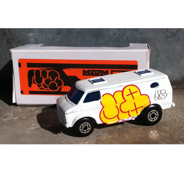 MQ x TYO TYOS:Graffiti Van 1/64��������ߥ˥���