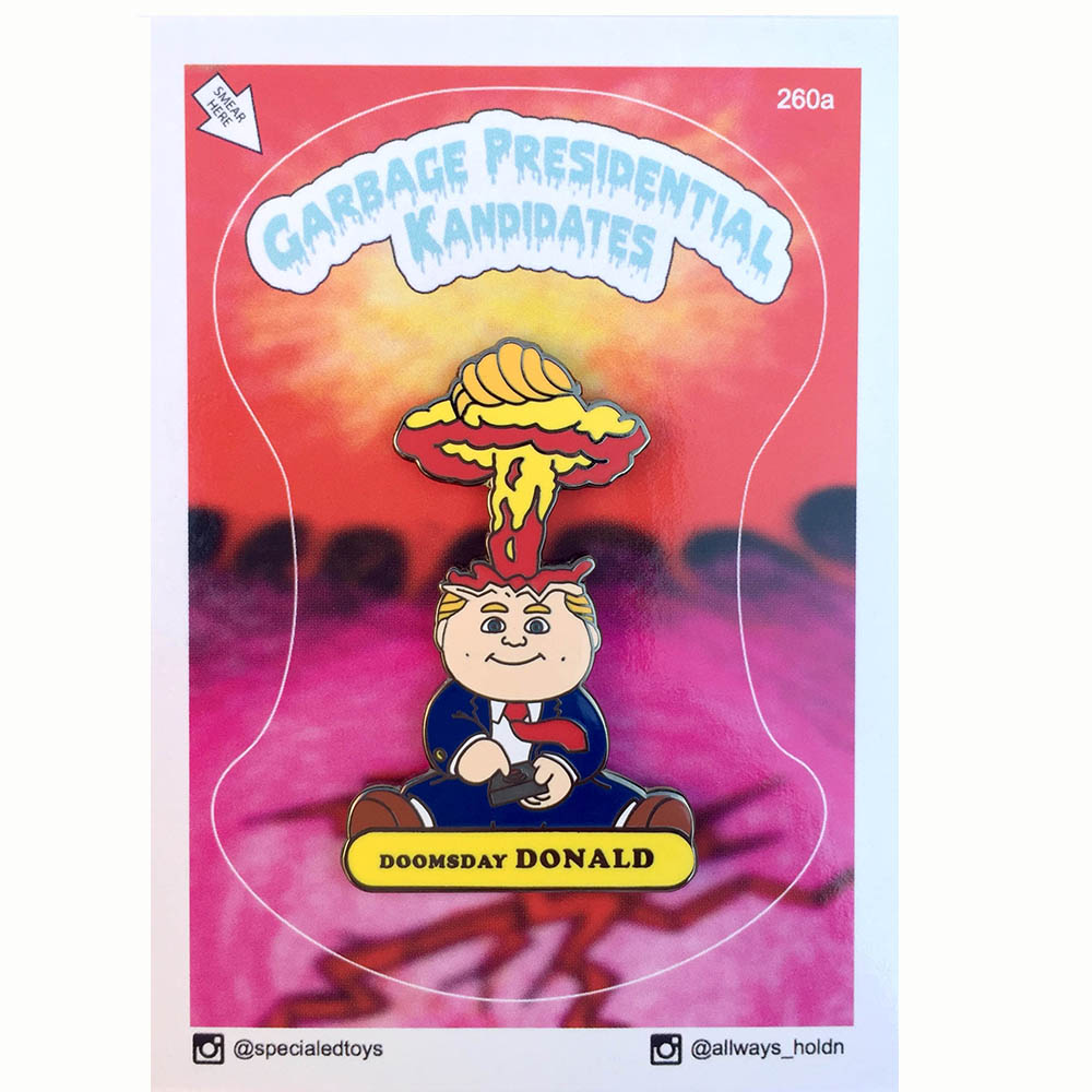 Special Ed Toys:Doomsday Donald ピンズ