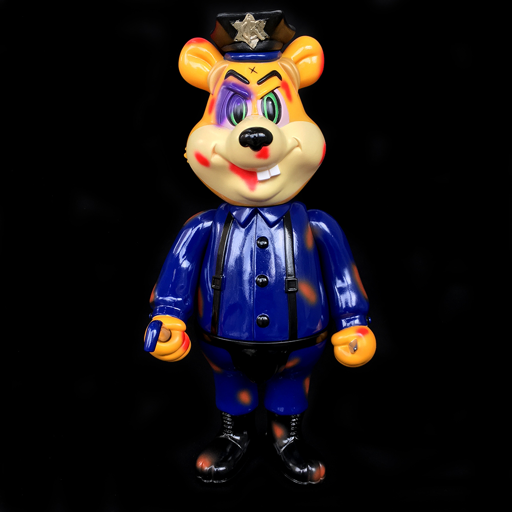Frank Kozik x BlackBook Toy:A Clockwork Carrot Dim 11インチフィギュア A.C.A.B Edition