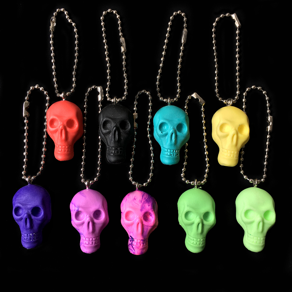 Monster Farm/Chop Skull resin key holder