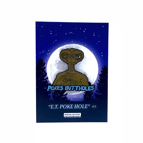 Special Ed Toys:E.T. Pokes Buttholes Pin