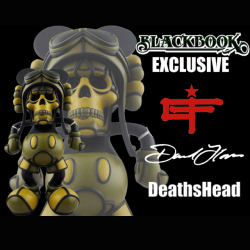 David Flores x Hell Fire Canyon Club�ʥǥ��ӥåɡ��ե?�쥹x�إ�ե�����������˥��󥯥�֡� DeathsHead BlackBook Toy����