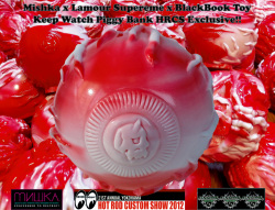 Mishka x Lamour Supreme x BlackBook Toy: Keep Watch Piggy Bank HRCS Exclusive Ver