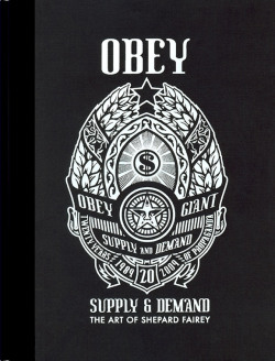 OBEY/Shepard Fairey�ʥ��٥��� Supply and Demand�ʥ��ץ饤������ɡ��ǥޥ�ɡˡ����ʽ��ʥϡ��ɥ��С���