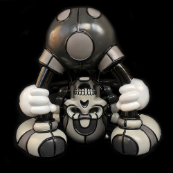 David Flores x HellFire Canyon Club x BlackBook Toy:Kiss My Ass Danny Boy Exclusive Dark edition