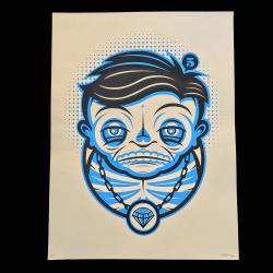 Nick McPherson(ニック・マクファーソン) Muertos シルクスクリーンポスター