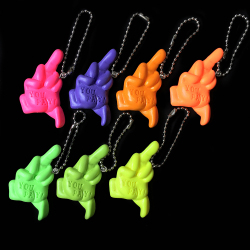 Monster Farm/Chop You Pay resin key holder