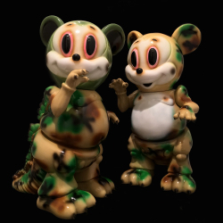 Ron English x BlackBook Toy( ロン・イングリッシュ) Mousezilla Camo