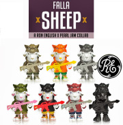 Ron English x Pearl Jam( ��󡦥��󥰥�å���ߥѡ��른���)��Falla Sheep 3������ե����奢��1��ñ��