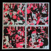 Cleon Peterson(クレオン・ピーターソン):The Occupation set of 4 シルクスクリーンポスター