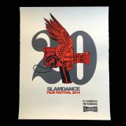 David Flores(デイビッド・フローレス) Slamdance Film Festival シルクスクリーンポスター