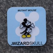 Wizard Skull:Mutant Mouse Pin