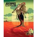 JUXTAPOZ(ジャクスタポズ) Illustration(イラストレーション) ハードカバーブック