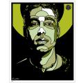 """David Flores (デイビッド・フローレス): Adam """"MCA"""" Yauch Commemorative ジークレーポスター GR"""