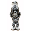 "David Flores x HellFire Canyon Club x BlackBook Toy:Deathead S'murks ""Grayscale"" BAIT Exclusive"