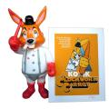 Frank Kozik x BlackBook Toy:A Clockwork Carrot 11インチフィギュア Redrum&ジークレーポスター BBT 1st Anniversaryセット