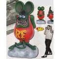 Rat Fink/Ed Roth�ʥ�åȥե���/���ɡ��?�ˡ�Giant Rat Fink Statue�ʥ��㥤����ȡ���åȥե����������塼��