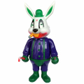 Frank Kozik x BlackBook Toy:A Clockwork Carrot Lil Alex 11������ե����奢 Supervillain