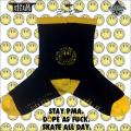 David Flores x BlackBook Toy x RUTSUBO:S.M.I.L.E Sox BK