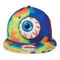 Mishka �ʥߥ�����:Keep Watch New Era���ʥåץХå�����å� Lime Blue Tie Dye