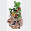 Rat Fink/Ed Roth�ʥ�åȥե���/���ɡ��?�ˡ�Rat Fink Hog Ride Coin Bank
