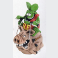 Rat Fink/Ed Roth�ʥ�åȥե���/���ɡ��?�ˡ�Rat Fink Hog Ride Coin Bank