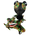 Ron English x BlackBook Toy( ��󡦥��󥰥�å���)��Mousemask Murphy in Airplane Camo edition