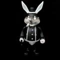 Frank Kozik x BlackBook Toy:A Clockwork Carrot Lil Alex 11������ե����奢 Grayscale Edition