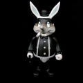 Frank Kozik x BlackBook Toy:A Clockwork Carrot Lil Alex 11������ե����奢 Grayscale Edition